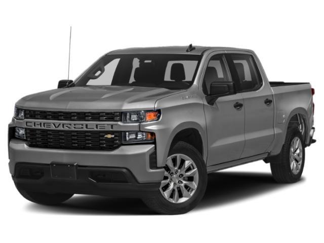 """2021 Chevrolet Silverado 1500 Custom 4WD Crew Cab 147"""" Custom Turbocharged Gas I4 2.7L/166 [6]"""