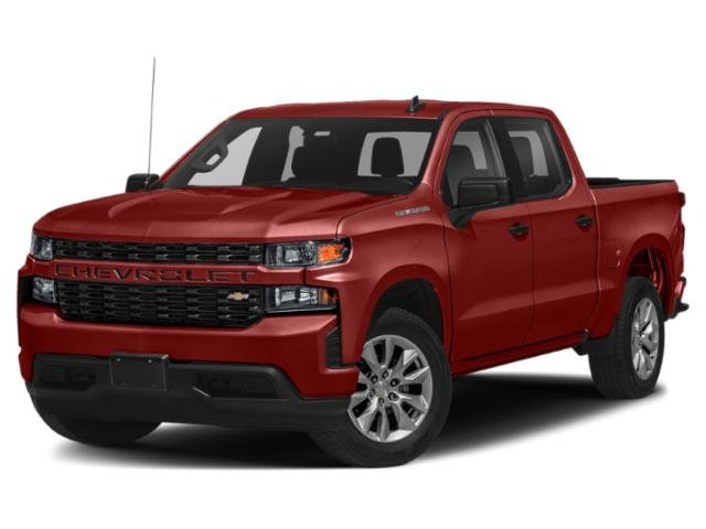 "2021 Chevrolet Silverado 1500 Custom 4WD Crew Cab 147"" Custom Turbocharged Gas I4 2.7L/166 [6]"