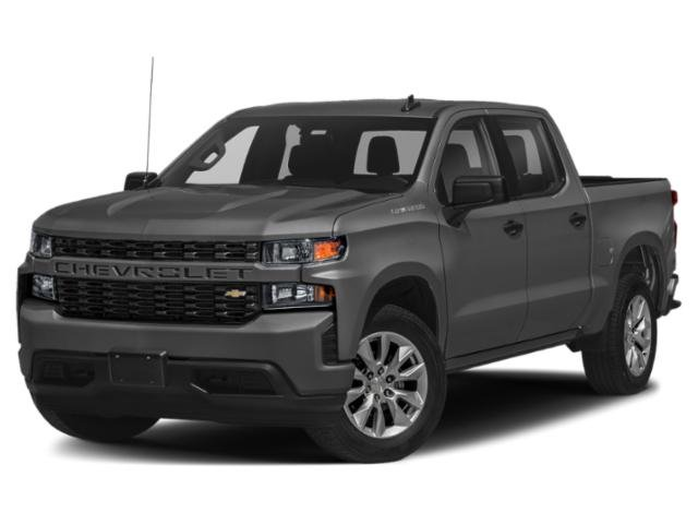 "2021 Chevrolet Silverado 1500 Custom 4WD Crew Cab 147"" Custom Turbocharged Gas I4 2.7L/166 [9]"