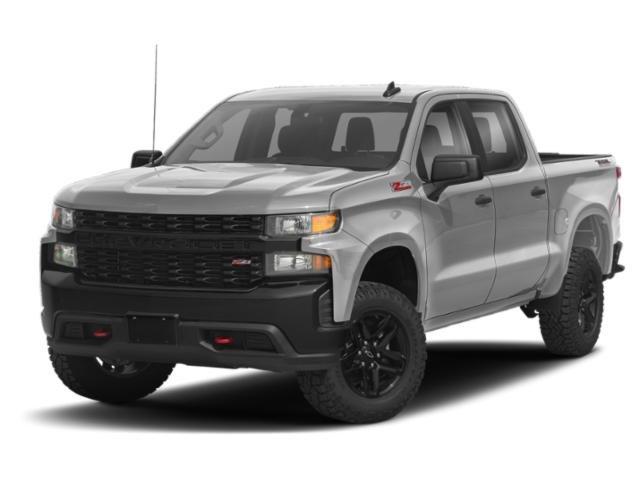 """2021 Chevrolet Silverado 1500 Custom Trail Boss 4WD Crew Cab 147"""" Custom Trail Boss Gas V6 4.3L/262 [15]"""