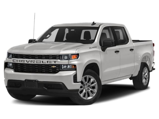 "2021 Chevrolet Silverado 1500 Custom 2WD Crew Cab 147"" Custom Turbocharged Gas I4 2.7L/166 [1]"