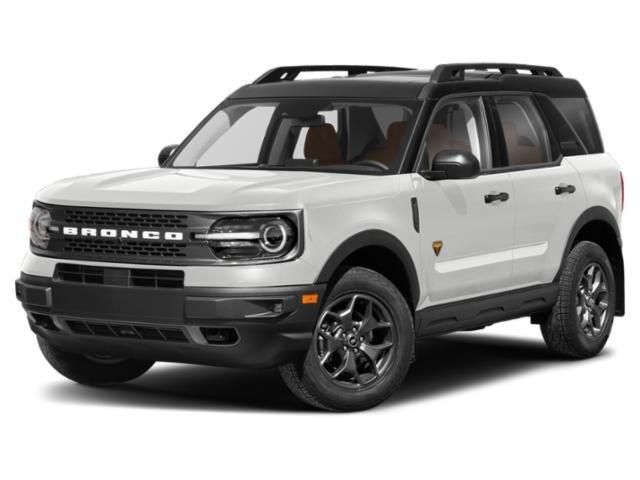 2021 Ford Bronco Sport Badlands Badlands 4x4 *Ltd Avail* Intercooled Turbo Premium Unleaded I-4 2.0 L/122 [2]