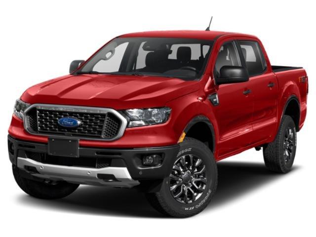 2021 Ford Ranger XLT XLT 4WD SuperCrew 5′ Box Intercooled Turbo Regular Unleaded I-4 2.3 L/140 [10]