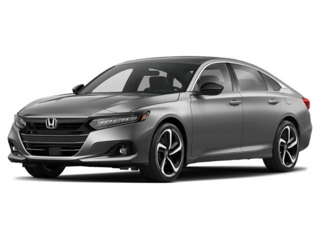 2021 Honda Accord Sedan Sport Sport 1.5T CVT Intercooled Turbo Regular Unleaded I-4 1.5 L/91 [4]
