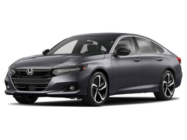 2021 Honda Accord Sedan Sport Sport 1.5T CVT Intercooled Turbo Regular Unleaded I-4 1.5 L/91 [0]