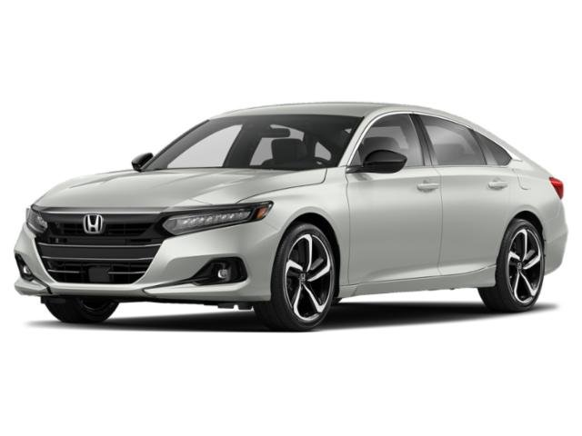 2021 Honda Accord Sedan Sport Sport 1.5T CVT Intercooled Turbo Regular Unleaded I-4 1.5 L/91 [1]