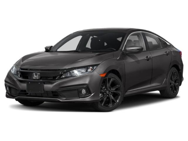 2021 Honda Civic Sedan Sport Sport CVT Regular Unleaded I-4 2.0 L/122 [15]