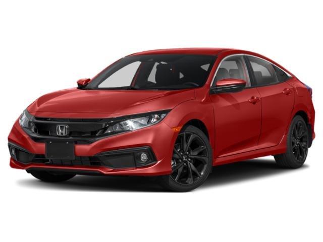 2021 Honda Civic Sedan Sport Sport CVT Regular Unleaded I-4 2.0 L/122 [5]