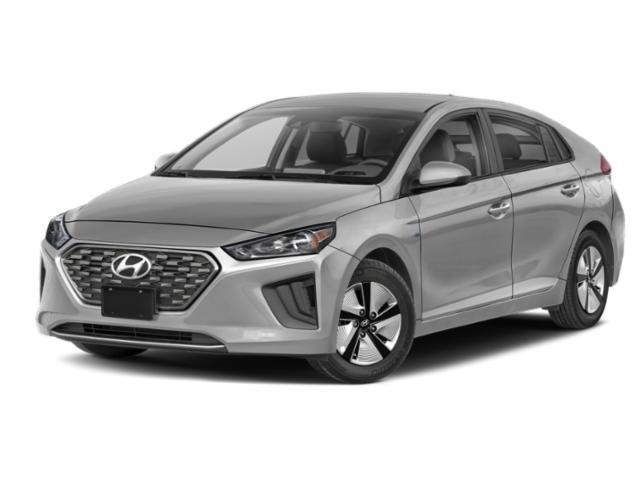 2021 Hyundai Ioniq Hybrid Blue Blue Hatchback Gas/Electric I-4 1.6 L/96 [2]