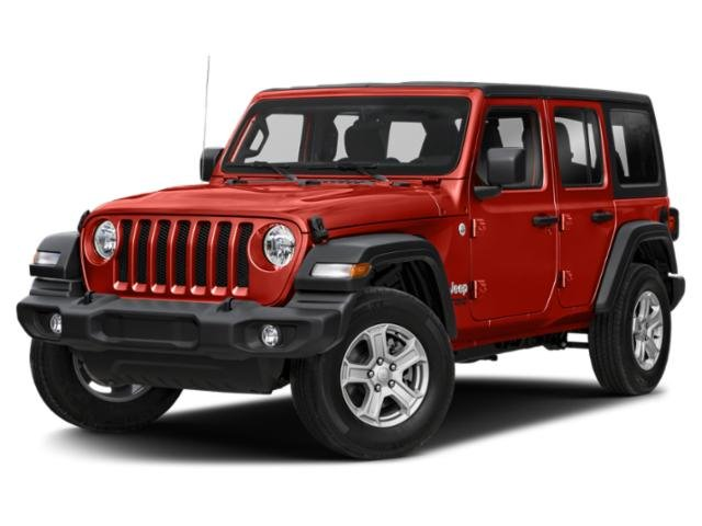 2021 Jeep Wrangler Willys Willys Unlimited 4x4 Gas/Electric V-6 3.6 L/220 [8]