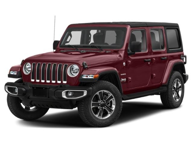 2021 Jeep Wrangler Unlimited Sahara High Altitude Sahara High Altitude Unlimited 4x4 Gas/Electric V-6 3.6 L/220 [5]