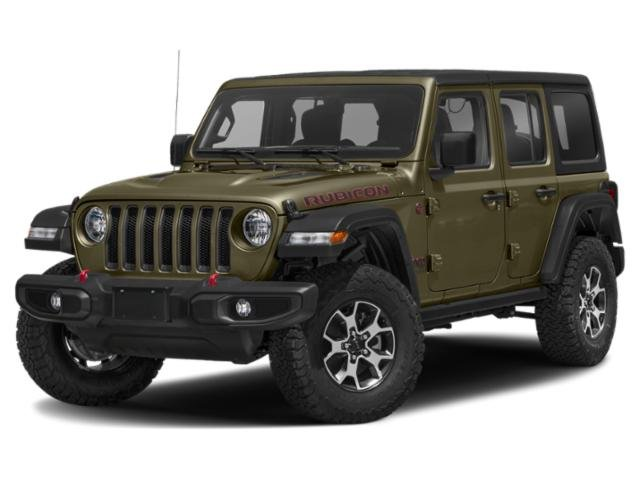 2021 Jeep Wrangler Rubicon Rubicon Unlimited 4x4 Intercooled Turbo Premium Unleaded I-4 2.0 L/122 [9]