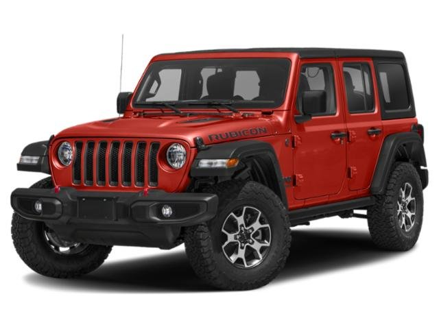 2021 Jeep Wrangler Rubicon Rubicon Unlimited 4x4 Intercooled Turbo Premium Unleaded I-4 2.0 L/122 [4]
