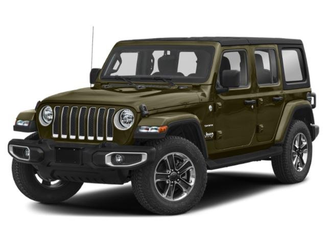 2021 Jeep Wrangler Sahara Sahara Unlimited 4x4 Intercooled Turbo Premium Unleaded I-4 2.0 L/122 [16]