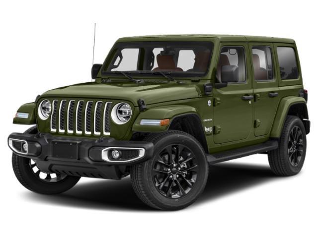 2021 Jeep Wrangler Unlimited Sahara 4xe Unlimited Sahara 4x4 Intercooled Turbo Gas/Electric I-4 2.0 L/122 [8]