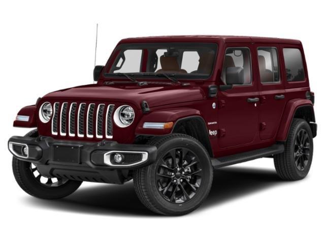 2021 Jeep Wrangler Unlimited Sahara 4xe Unlimited Sahara 4x4 Intercooled Turbo Gas/Electric I-4 2.0 L/122 [9]