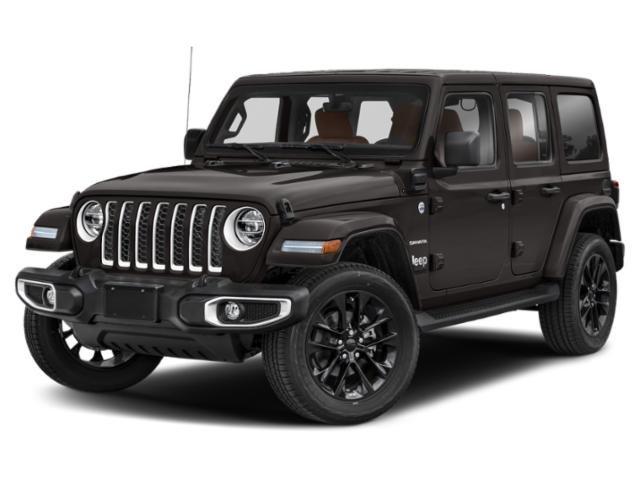2021 Jeep Wrangler 4xe Unlimited Sahara Unlimited Sahara 4x4 Intercooled Turbo Gas/Electric I-4 2.0 L/122 [6]