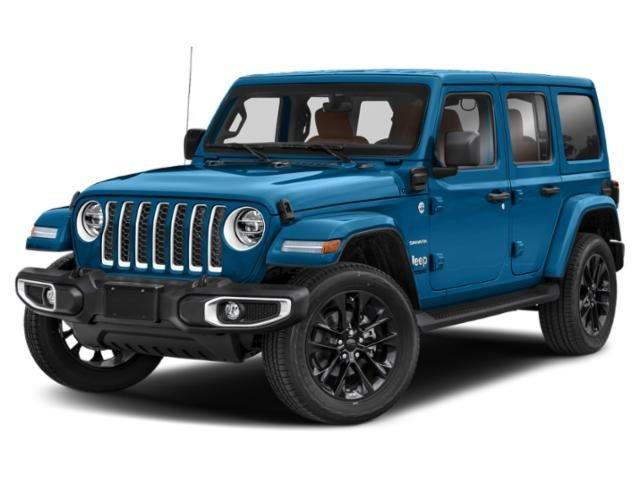 2021 Jeep Wrangler Unlimited Sahara 4xe Unlimited Sahara 4x4 Intercooled Turbo Gas/Electric I-4 2.0 L/122 [4]