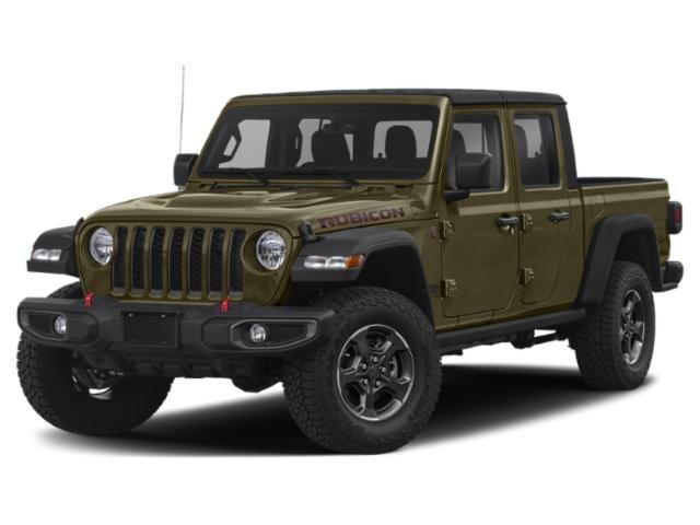 2021 Jeep Gladiator Rubicon Rubicon 4x4 Regular Unleaded V-6 3.6 L/220 [1]