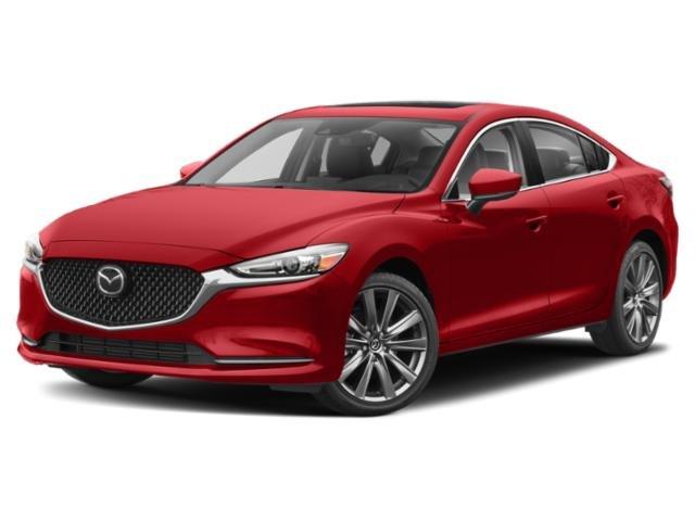 2021 Mazda Mazda6 Grand Touring Grand Touring Auto Intercooled Turbo Regular Unleaded I-4 2.5 L/152 [8]