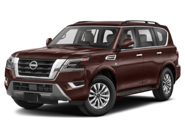 2021 Nissan Armada Platinum 4x4 Platinum Regular Unleaded V-8 5.6 L/339 [0]