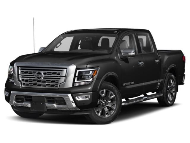 2021 Nissan Titan Platinum Reserve 4WD 4x4 Crew Cab Platinum Reserve Premium Unleaded V-8 5.6 L/339 [2]