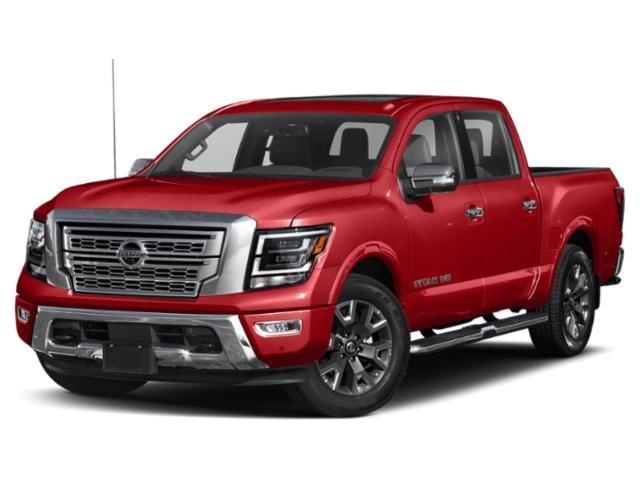 2021 Nissan Titan Platinum Reserve 4x4 Crew Cab Platinum Reserve Premium Unleaded V-8 5.6 L/339 [17]