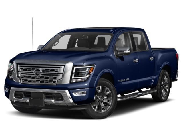 2021 Nissan Titan Platinum Reserve 4x4 Crew Cab Platinum Reserve Premium Unleaded V-8 5.6 L/339 [3]