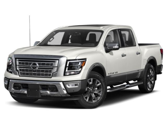 2021 Nissan Titan Platinum Reserve 4x4 Crew Cab Platinum Reserve Premium Unleaded V-8 5.6 L/339 [18]