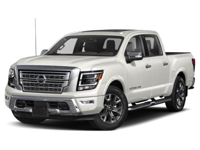 2021 Nissan Titan Platinum Reserve 4x4 Crew Cab Platinum Reserve Premium Unleaded V-8 5.6 L/339 [4]