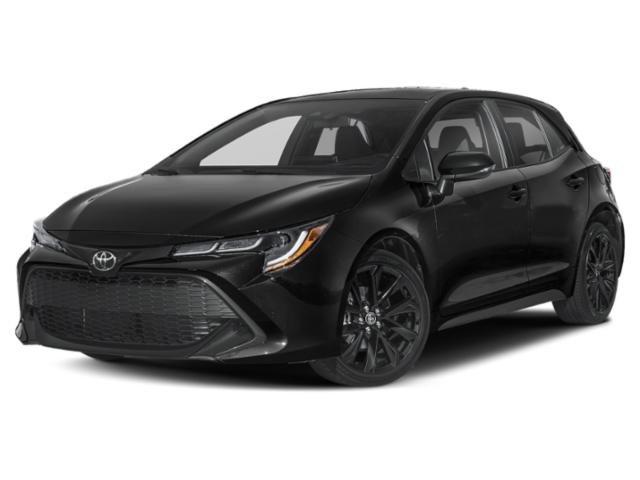 2021 Toyota Corolla Hatchback Nightshade Nightshade CVT Regular Unleaded I-4 2.0 L/121 [1]