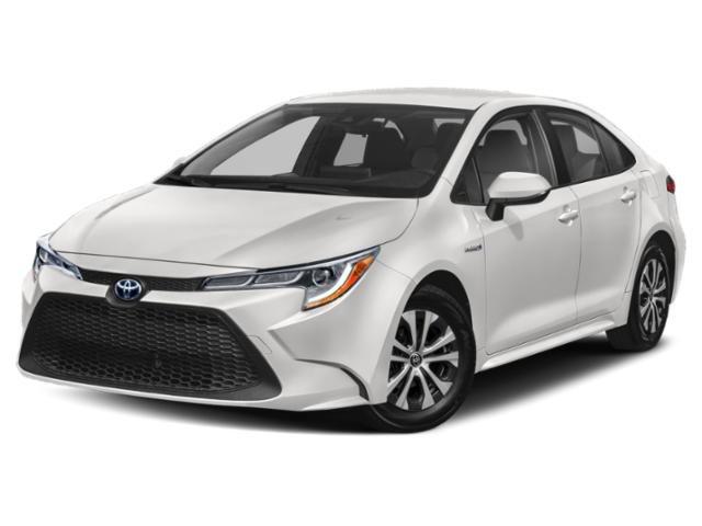 2021 Toyota Corolla Hybrid LE Hybrid LE CVT Gas/Electric I-4 1.8 L/110 [18]
