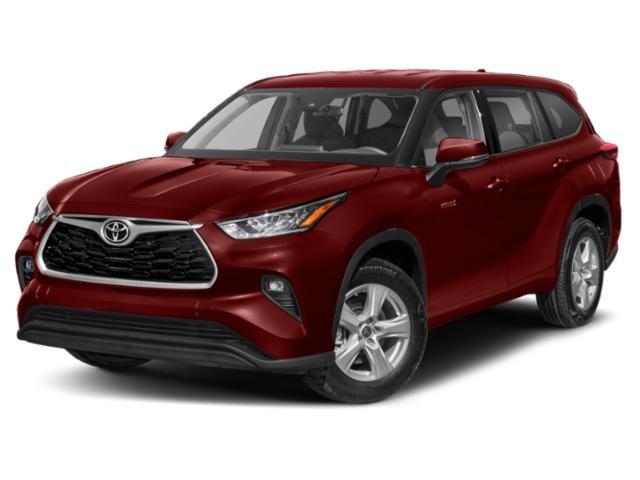 2021 Toyota Highlander Hybrid XLE Hybrid XLE FWD Gas/Electric I-4 2.5 L/152 [8]
