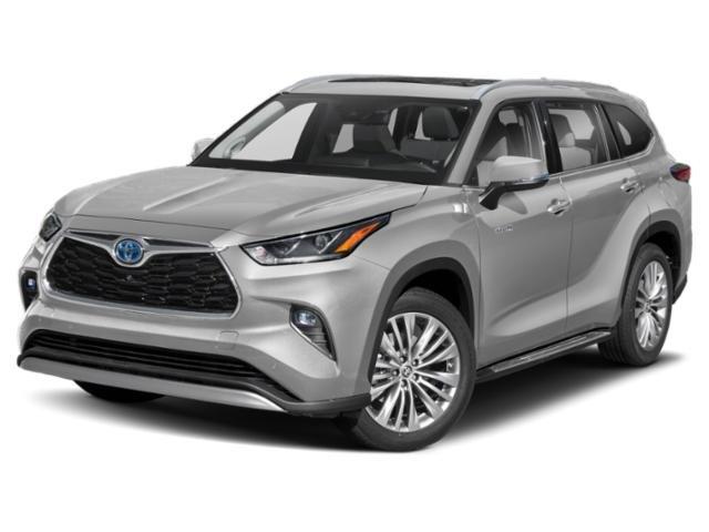2021 Toyota Highlander Hybrid Platinum Hybrid Platinum FWD Gas/Electric I-4 2.5 L/152 [0]
