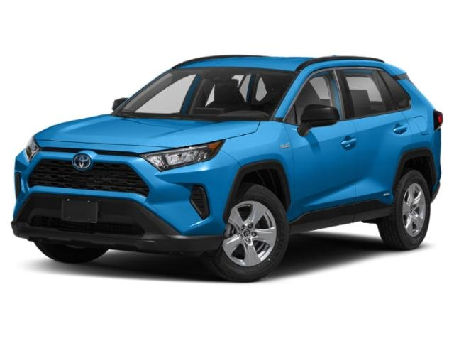2021 Toyota RAV4 Hybrid LE  Gas/Electric I-4 2.5 L/152 [8]