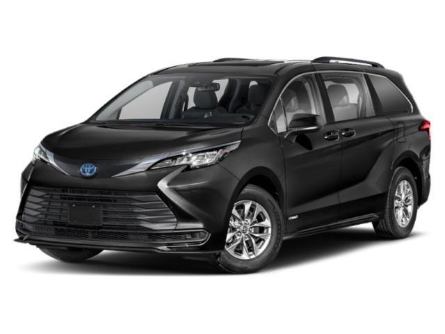 2021 Toyota Sienna LE LE FWD 8-Passenger Gas/Electric I-4 2.5 L/152 [0]