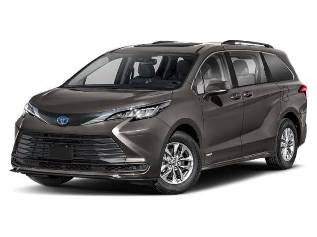 2021 Toyota Sienna LE LE FWD 8-Passenger Gas/Electric I-4 2.5 L/152 [1]