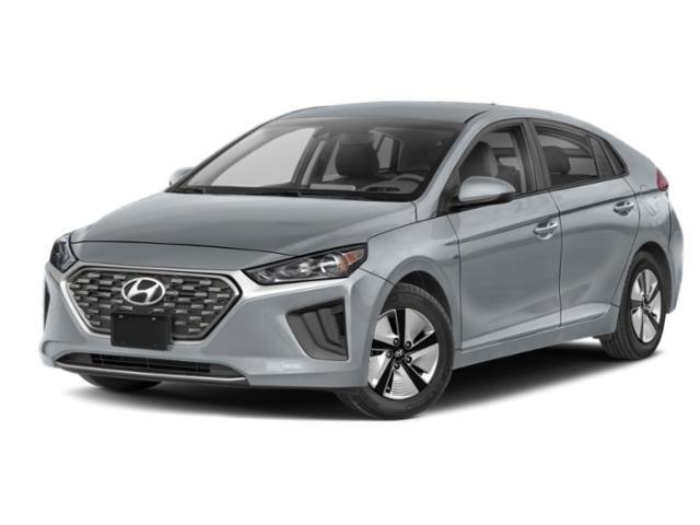 2022 Hyundai Ioniq Hybrid Blue Blue Hatchback Gas/Electric I-4 1.6 L/96 [14]
