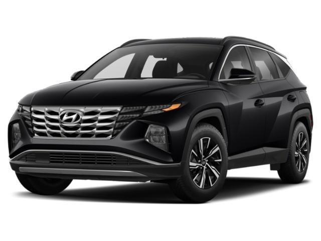 2022 Hyundai Tucson Hybrid Blue Blue AWD Intercooled Turbo Gas/Electric I-4 1.6 L/98 [1]
