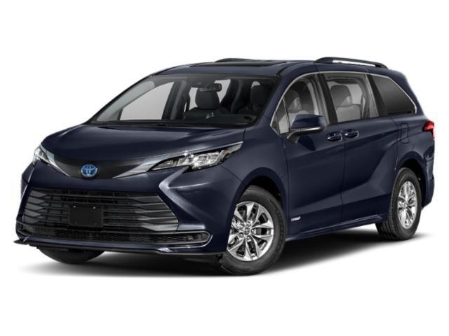 2022 Toyota Sienna LE LE FWD 8-Passenger Gas/Electric I-4 2.5 L/152 [0]