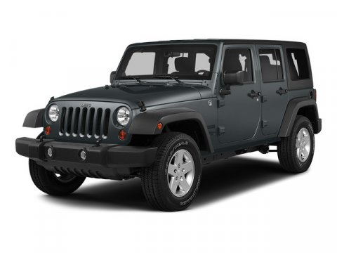 used 2015 Jeep Wrangler Unlimited car, priced at $34,988