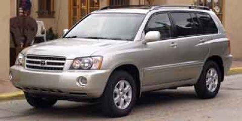 used 2002 Toyota Highlander car, priced at $3,750