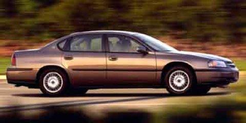 used 2002 Chevrolet Impala car
