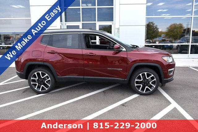 new 2021 Jeep Compass car, priced at $36,025
