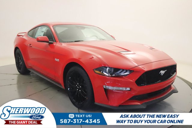 new 2021 Ford Mustang car, priced at $62,210