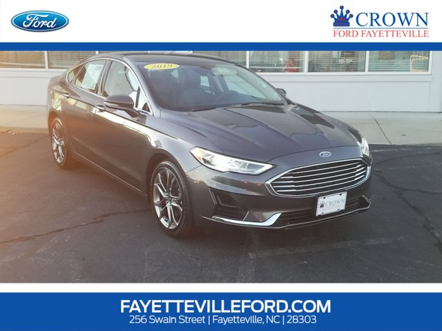 used 2019 Ford Fusion car, priced at $17,991