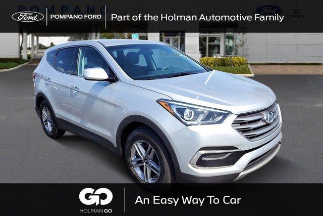 used 2017 Hyundai Santa Fe Sport car, priced at $14,298