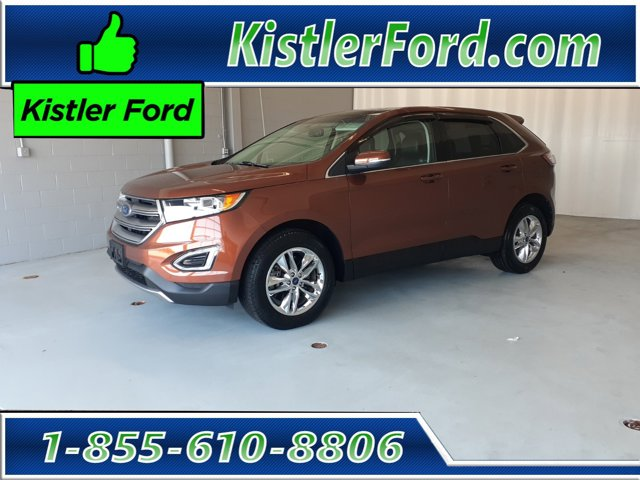 used 2017 Ford Edge car, priced at $25,900