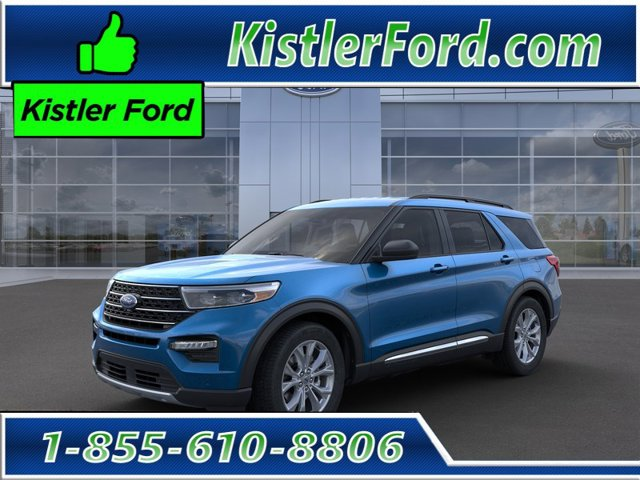 new 2020 Ford Explorer car, priced at $48,115
