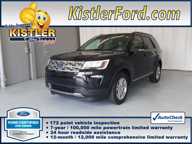 used 2018 Ford Explorer car, priced at $29,136